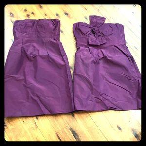 J Crew bridesmaids dresses both size 8